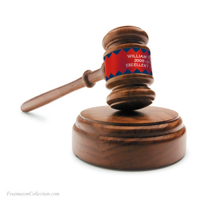 Personalized Royal Arch Gavel