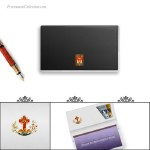 Checkbook Cover masonic. Freemason Gift
