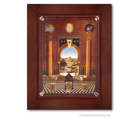 Mark tracing boards. Trestle boards. Freemason