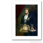 Edward VII with full regalia. Famous Freemasons. Freemasonry