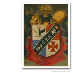 Knight Kadosh Symbolic Coat of Arms (2). Freemasonry