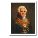 Roettier de Montaleau, Grand Master of The Grand Orient de France, End XVIIIth. Famous Freemasons. Freemasonry
