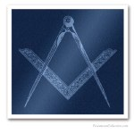 Square and Compass. Freemasonry