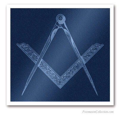 Square and Compass. Lodge Furniture . Masonic Paintings