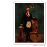 George Washington as a Mason, 1832. Famous Freemasons. Freemasonry