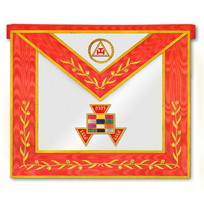 'Royal Arch Past High Priest Apron - Royal Arch Regalia