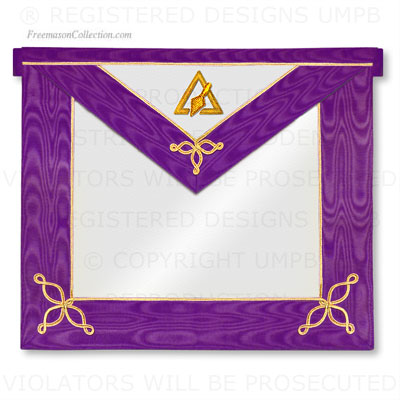 Cryptic Masons - Royal and Select Master Apron - Member