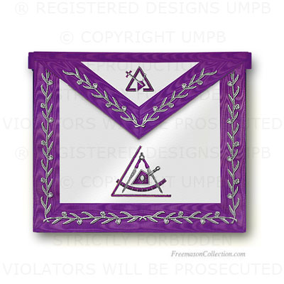 'Cryptic Masons - Royal and Select Masters Apron - R&SM Regalia