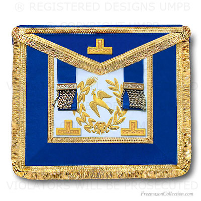Grand Lodge Apron - Full Dress -