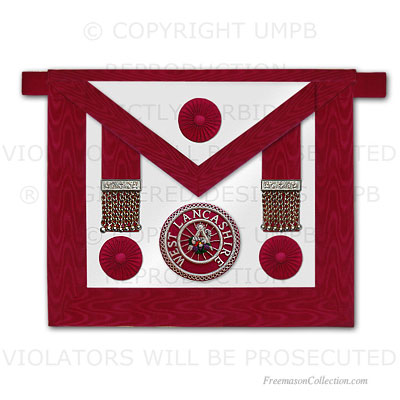 Craft Provincial Grand Steward Apron - Rosettes