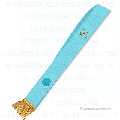 Knight Mason Sash - Blue Degree