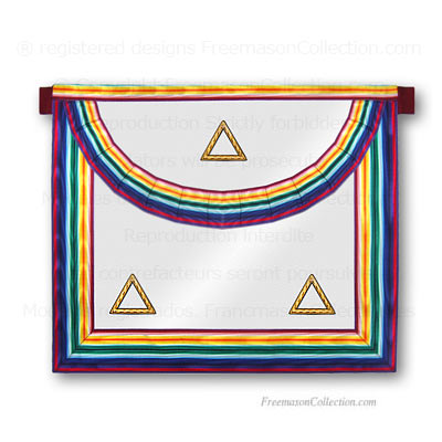 Royal Ark Mariner -RAM- Grand Rank Apron - Royal Ark Mariner -RAM- Regalia