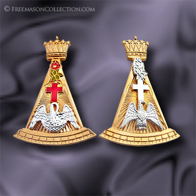 Rose Croix Collar Jewel - Scottish Rite Regalia