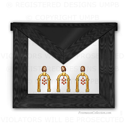 '10° Degree Apron- Scottish Rite Regalia