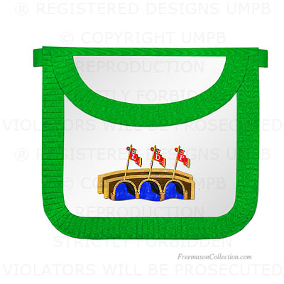 15° Degree Scottish Rite Apron