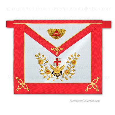 'Rose Croix Apron - Scottish Rite Regalia