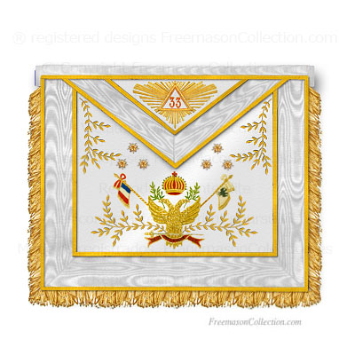 33° Degree Scottish Rite Apron.