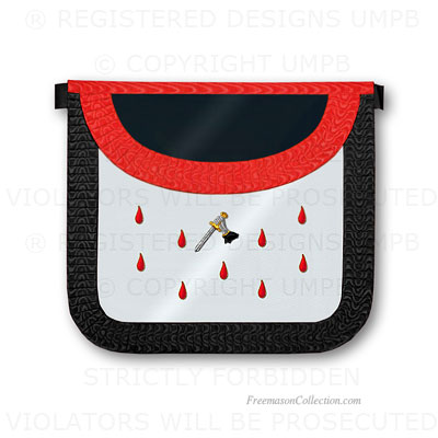 '9° Degree Apron- Scottish Rite Regalia
