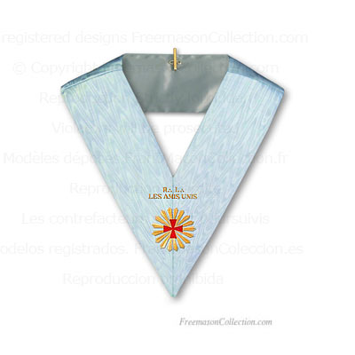 Worshipful Master Collar RER - Rectified Scottish Rite