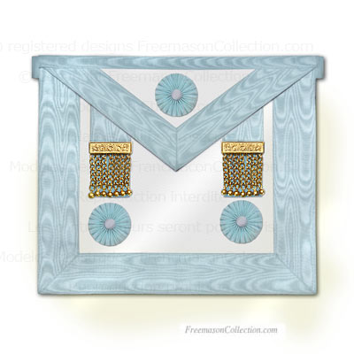 'Master Apron - Rectified Scottish Rite - Rectified Scottish Rite Regalia