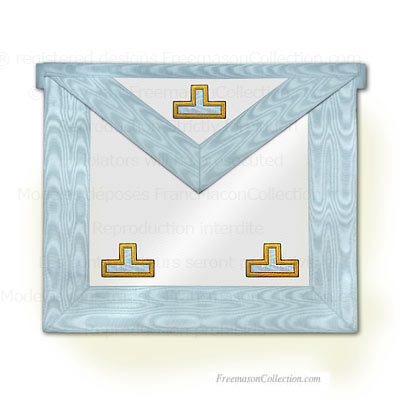 Worshipful Master Apron - Rectified Scottish Rite