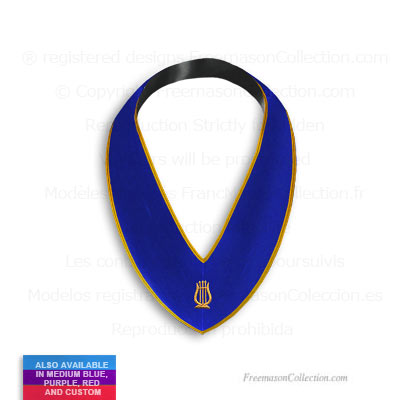 Blue Lodge Organist Collar  - Blue Lodge Regalia