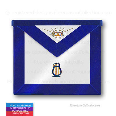 Blue Lodge Organist Apron - Blue Lodge Regalia