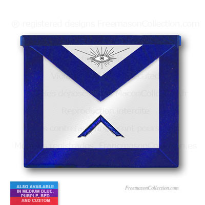 'Blue Lodge Worshipful Master Apron - Blue Lodge Regalia