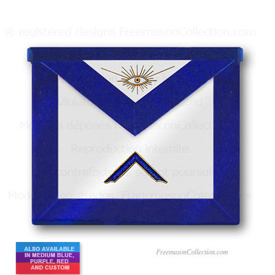 Blue Lodge Worshipful Master Apron - Blue Lodge Regalia