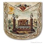 Masonic Washington and Lafayette Apron