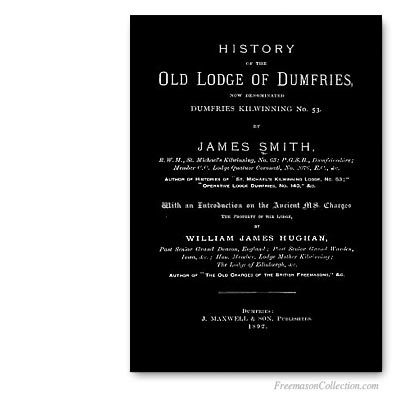 History of the Old Lodge of Dumfries